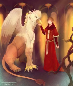 The Griffin and The Minor Canon by pandagulung
