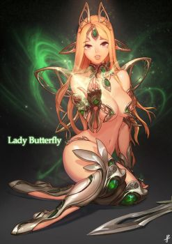 Dota 2 Item Feminization - Butterfly by InstantIP