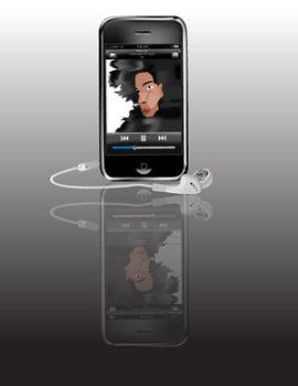 Apple IPhone by Club-Vector