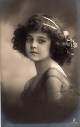 Unknown Girl 1911 by Step-in-Time-Stock