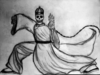 Master Skeleton's Fourth Kung Fu Movement by Old-Sage