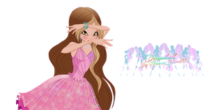 Winx Club: World of Winx Flora Couture - PNGs! by PrincessBloom93