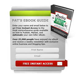 Opt-In box for promotion book by frau-zeit