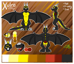 Xulro Ref: Semi-Custom by tribalkitten97