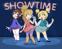 Showtime! by monkeycheesedrawing