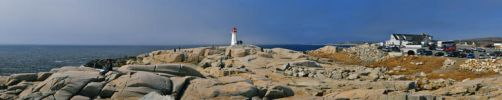 Peggys Cove Lighthouse by jarvarro