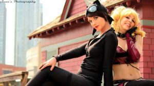 Gotham City Sirens 2 by EvieE-Cosplay