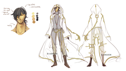 :Faelan: Design Sheet by Chuuchichu
