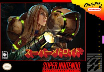Super Metroid Custom Cover by GameScanner