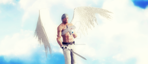 Devil May Cry 4,Dante is an Angel by WhiteKnightDante