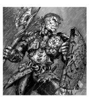 RPG Character: Enslaved Orc Warrior by WEXAL