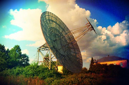 Radio Telescope by Shymoda