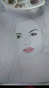 Selena Gomez by SquigglyButterfly