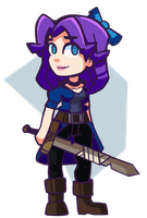 Stardew Valley - Abigail by Undead-Niklos