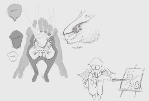 Daily Draw Feb 2013 - 05/28 :: HazardPay concepts by BCullis
