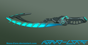 Nanoblade Weapon Adopt (closed) by Nano-Core