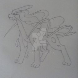 Suicune by Jaywalk5