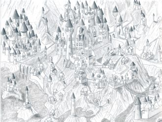 The City Of A Hundred Towers by Stego1