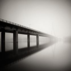 Foggy Bridge by EmilStojek
