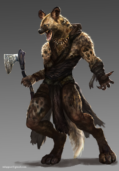 Gnoll-Commission by mlappas