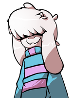 GOAT CHILD FRISK by sunnearts