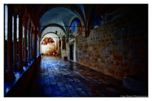 In the Franciscan monastery by Raimios