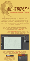 Lining and Coloring Tutorial by Nightrizer