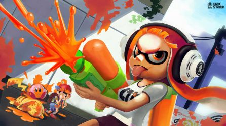 Splatoon by ErikStrider
