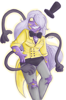 Bill-Amethyst Fusion [request] by SafirasArt