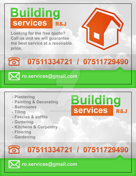Building Services - Business card by camilledezign