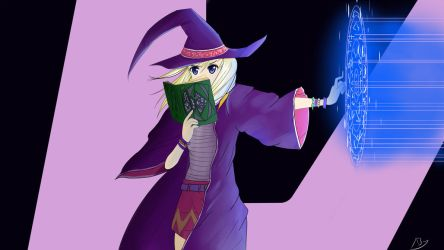 Practicing Witch by abysan