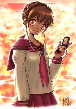 New-cell phone-colored by Teruchan