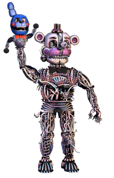 Ennarded Funtime Freddy by shadowNightmare13