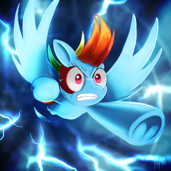Dash Hard with a Vengeance by JPHyperX