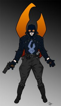Lobster Johnson - Colors WiP by Tensen01