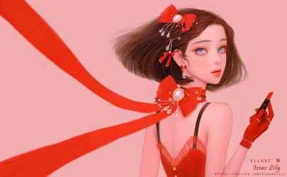 red lily human ver. by lily-nuga