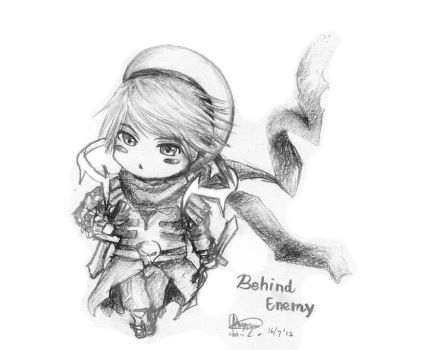 Chibi Request - Behind Enemy by chalollita