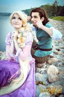 Rapunzel and Flynn 3 by Usagi-Tsukino-krv