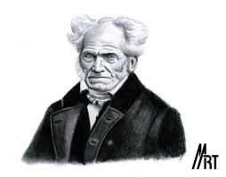 A. Schopenhauer by M-art-works