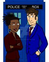 The Doctor and Martha Jones by WombatOne