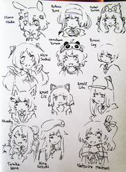 one day i'll draw all the vtubers by Kechuppika