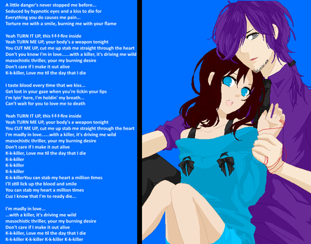 Vincent/Purple Guy and Carrie by animefan71
