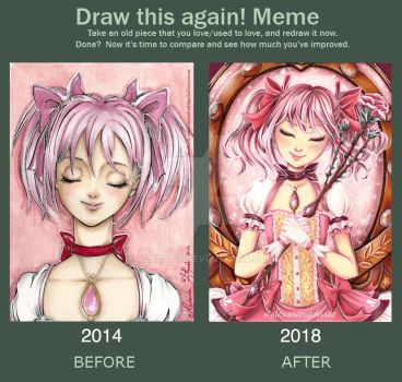Draw this again! Madoka by AlexandraFolgado