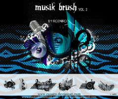Musik Brushes 2 by Rozairo