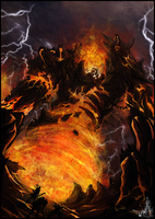 Seriously not Ragnaros... by Narcotic-Nightmares