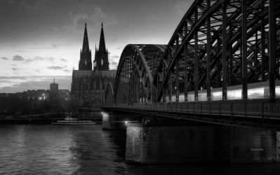 Cologne Cathedral by fr31g31st