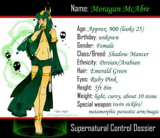 SC: Moragan Dossier by BaGgY666