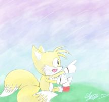 Classic Tails! by sarahlouiseghost