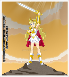 She-ra poster by Isack503