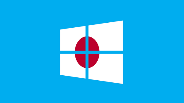 Windows 8 with Japan flag by pavelstrobl